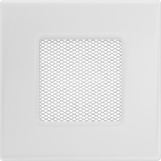 Решітка для каміну Kratki 11x11 біла