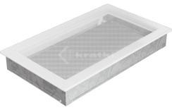 Решетка для камина Kratki 22х37 белая. Фото 2