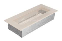 Решетка для камина Kratki 11х24 кремовая. Фото 2