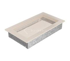 Решетка для камина Kratki 17х30 кремовая. Фото 2