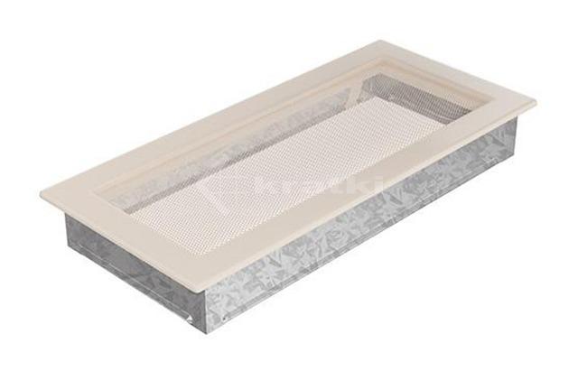 Решетка для камина Kratki 17х37 кремовая. Фото 2