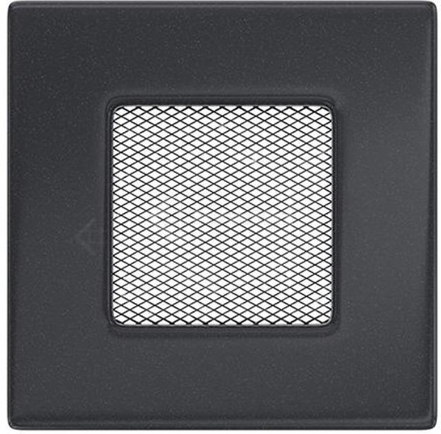 Решетка для камина Kratki 11x11 графитовая