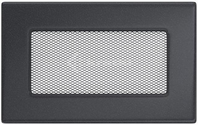 Решетка для камина Kratki 11х17 графитовая