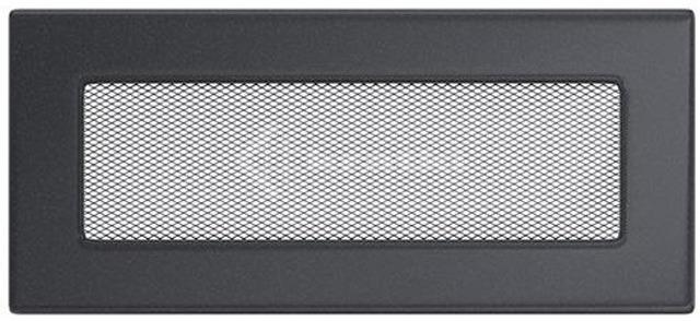 Решетка для камина Kratki 11х24 графитовая