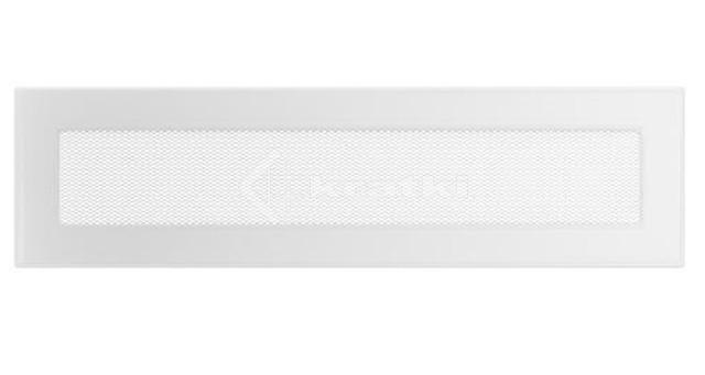Решетка для камина Kratki 11х42 белая