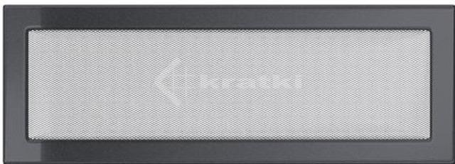 Решітка для каміну Kratki 17х49 графітова
