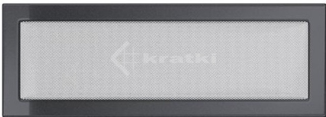 Решетка для камина Kratki 17х49 графитовая