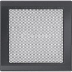 Решетка для камина Kratki 22х22 графитовая