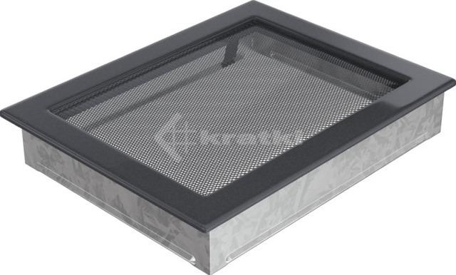 Решетка для камина Kratki 22х30 графитовая. Фото 2