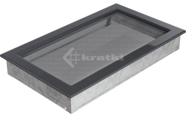 Решетка для камина Kratki 22х37 графитовая. Фото 2