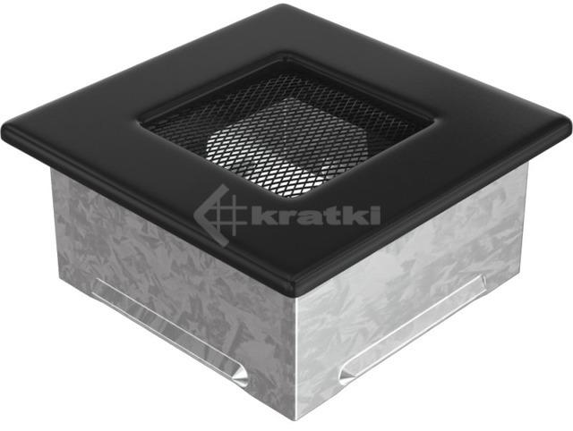 Решетка для камина Kratki 11x11 черная. Фото 2