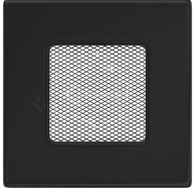 Решетка для камина Kratki 11x11 черная