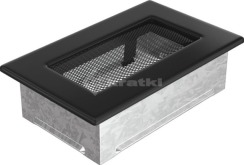 Решетка для камина Kratki 11х17 черная. Фото 2