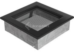 Решетка для камина Kratki 17х17 черная. Фото 2