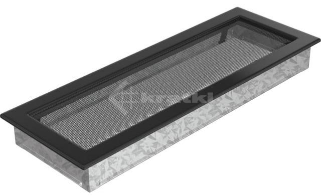 Решетка для камина Kratki 17х49 черная. Фото 2