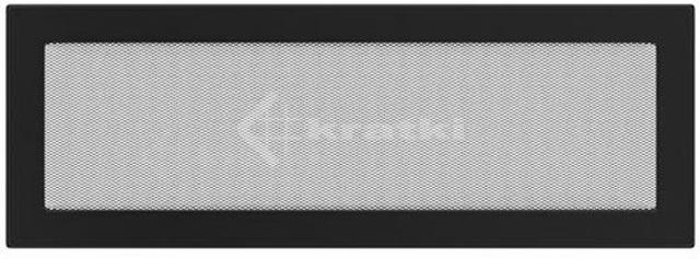 Решетка для камина Kratki 17х49 черная