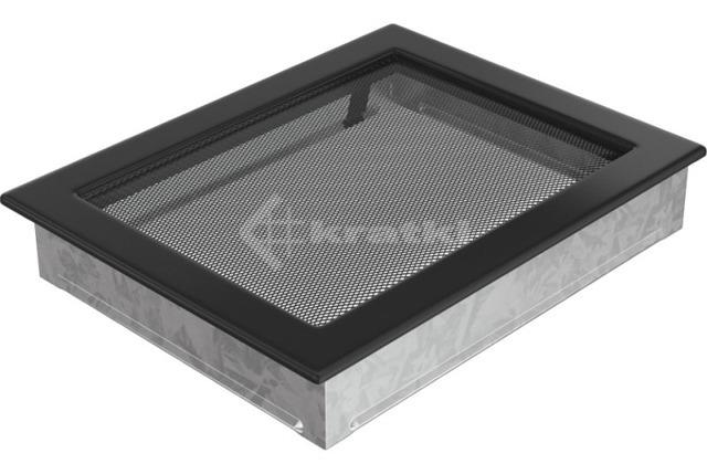 Решетка для камина Kratki 22х30 черная. Фото 2