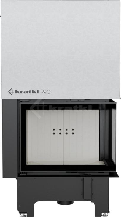 Каминная топка Kratki VN 700/480 правая BS гильотина. Фото 2