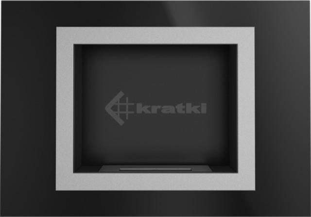Биокамин Kratki Oscar черный TÜV. Фото 4