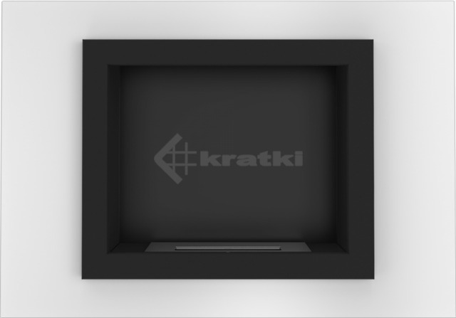 Биокамин Kratki Oscar белый TÜV. Фото 4