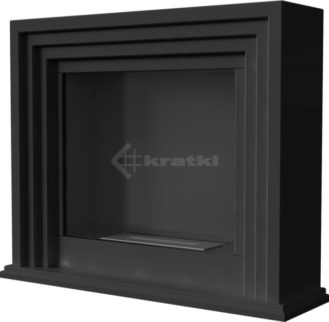 Биокамин Kratki Quaerere черный TÜV. Фото 4