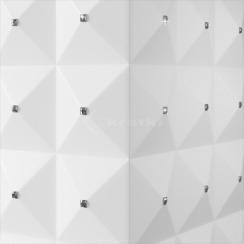 Біокамін Kratki Egzul білий матовий з кристалами Swarovski TÜV. Фото 5