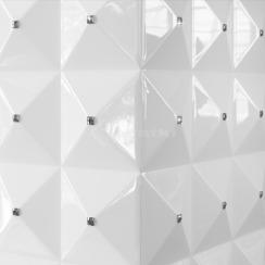 Біокамін Kratki Egzul білий глянцевий з кристалами Swarovski TÜV. Фото 5