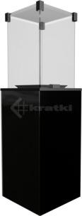 Газовий обігрівач Kratki Patio чорний. Фото 2