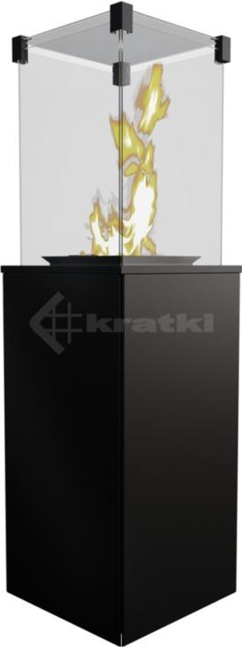 Газовый обогреватель Kratki Patio Mini сталь