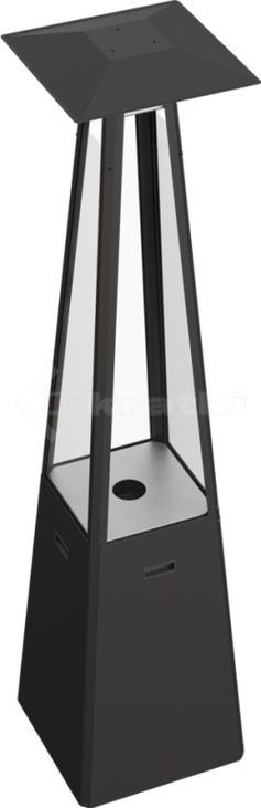 Газовий обігрівач Kratki Umbrella чорний. Фото 4