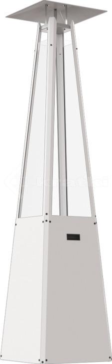 Газовий обігрівач Kratki Umbrella білий