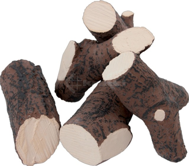 Декор керамический Kratki дрова