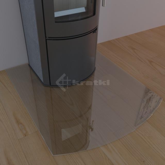 Стеклянная основа для печей Kratki Madrit. Фото 3