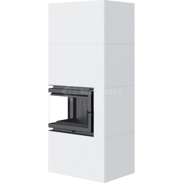 Модульний камін Kratki Simple Box L/S/Bianco 8 кВт. Фото 3