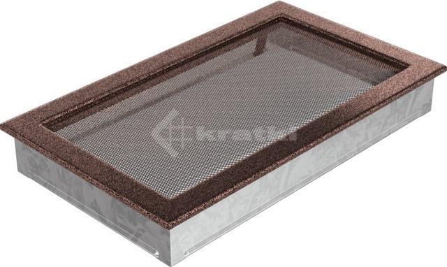 Решетка для камина Kratki 22х37 медная. Фото 2
