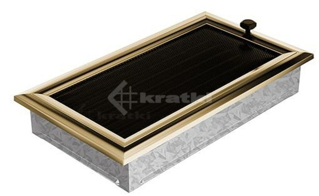 Решетка для камина Kratki Oskar 17х30 с жалюзи. Фото 2