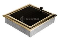 Решетка для камина Kratki Oskar 22х22 с жалюзи. Фото 2