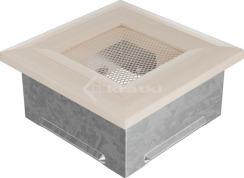 Решетка для камина Kratki Oskar 11x11 кремовая. Фото 2