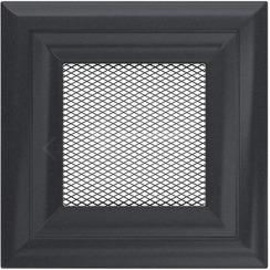 Решетка для камина Kratki Oskar 11x11 графитовая