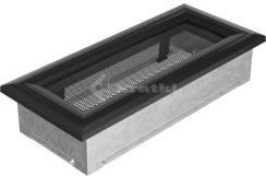 Решетка для камина Kratki Oskar 11х24 черная. Фото 2
