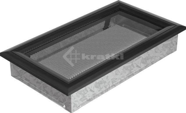 Решетка для камина Kratki Oskar 17х30 черная. Фото 2