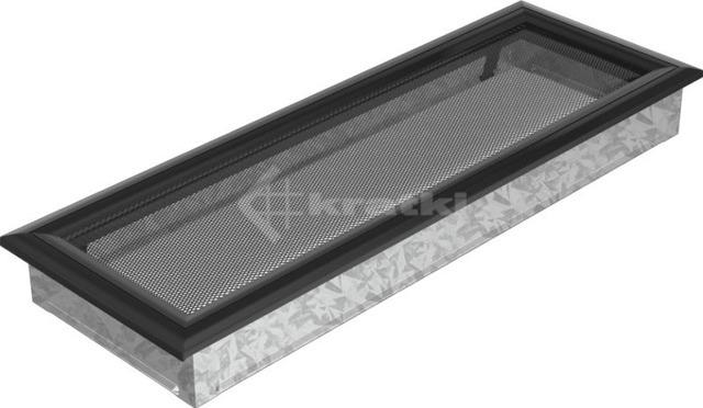 Решетка для камина Kratki Oskar 17х49 черная. Фото 2