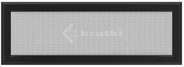 Решетка для камина Kratki Oskar 17х49 черная