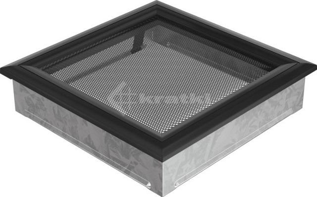 Решетка для камина Kratki Oskar 22х22 черная. Фото 2