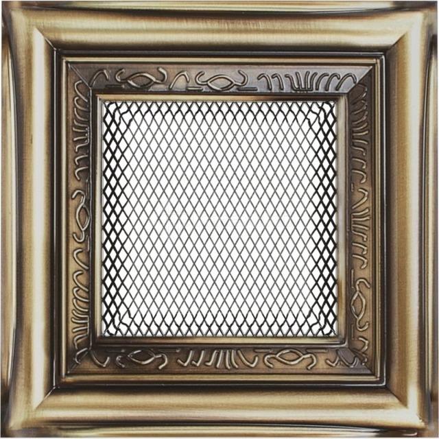 Решетка для камина Kratki 11x11 рустикальная