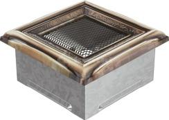 Решетка для камина Kratki 11x11 рустикальная. Фото 3