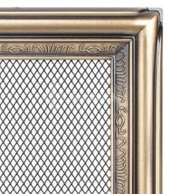 Решетка для камина Kratki 17х17 рустикальная. Фото 2