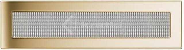 Решетка для камина Kratki 11х42 позолоченная