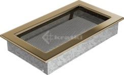 Решетка для камина Kratki 17х30 позолоченная. Фото 2