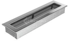 Решетка для камина Kratki 11х42 никелированная. Фото 2